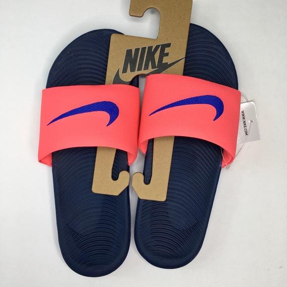 40d8cf0f419f Nike Hot Punch Paramount Blue Kawa Slide Sandals